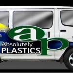 Absolutely Plastics Van