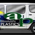 Absolutely Plastics Van