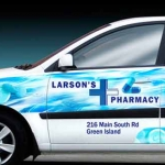 Larson's Pharmacy Vehicle