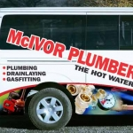 McIvor Plumbers Van