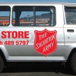 Salvation Army Van